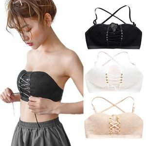 Other - *NWT!*  4 ways to wear! White lace up multi bra